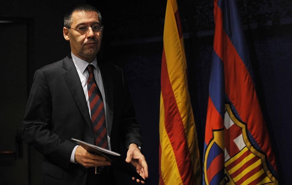 Жозеп Бартомеу ушел в отставку. ФК Барселона