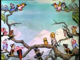 Disneys Silly Smyphonies - The Flying Mouse (1934)