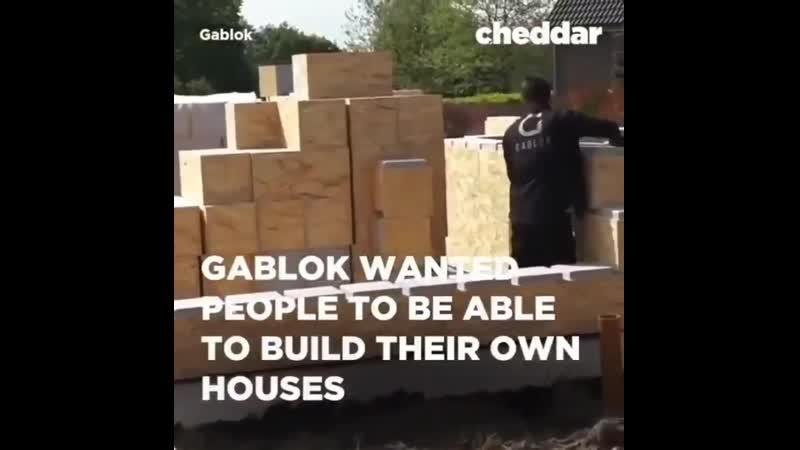 Строительство дома инновационными пеноблоками, как кубиками конструктора!