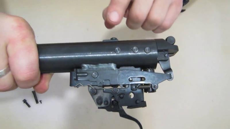 Ремонт пневматики Hatsan mod.90 Не стает на взвод.
