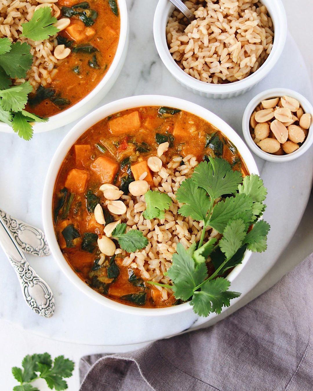 Суп с арахисовой пастой