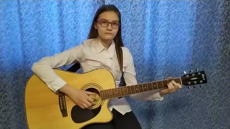 Бережанская Анастасия 14 лет г Барнаул Исполнитель Старый пиджак Б Окуджава