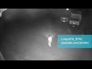 Сторож одного из мехдворов Беларуси снял на видео НЛО