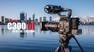 Canon C300 Mark III 10Bit 4K CinemaRAW 100p/120p Video Test