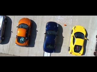 BMW(1-series M), Ford Mustang, Porsche 911 GT3 RS, Chevrolet Corvette z06/z07, Ferrari 458 Italia, Nissan GT-R(r35), Audi R8 GT,