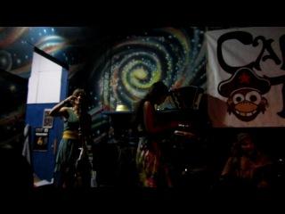 Capitan Tifus Барабанный сейшн после концерта