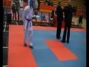 Даниил Осмагов 2 Балтийская Олимпиада боевых исскуств каратэ WKU 2013 Латвия г Рига