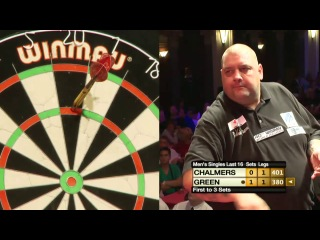 Andy Chalmers vs Robbie Green (Winmau World Masters 2013 / Last 16)