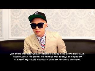 Интервью G-Dragon для Billboard часть1 [рус.саб]