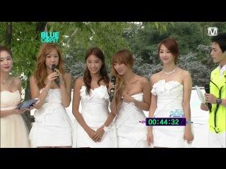 120628 Sistar - Blue Carpet + Interview @ 2012 Mnet 20's Choice