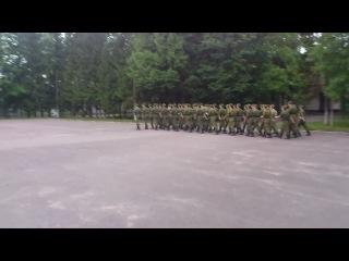 Военные сборы 2012 - Строевая песня (Небо славян, Спанч Боб)