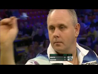Ian White vs Ronnie Baxter (Players Championship Finals 2013 / Round 1)