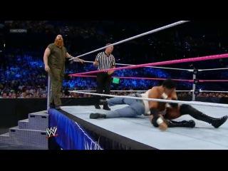 [WM] WWE Friday Night SmackDown  -  The Prime Time Players (Darren Young & Titus O'Neil) vs. The Wyatt Family (Erick Rowan & Luke Harper)