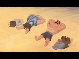 """""""Три богатыря на дальних берегах""""- Классный и забавный мультфильм !!!"""