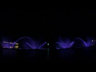 Винницкий фонтан.Не хуже чем в Дубае.