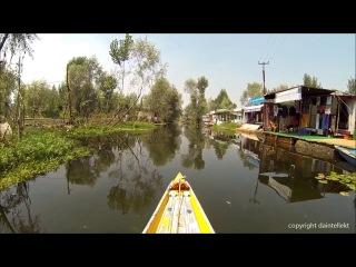 Beautiful dal lake srinagar shikara boat ride kashmir ( кашмирская долина )