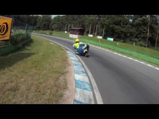 Walldorf 4-12-02 Fast Pocketbike - Minibike On Track.mov