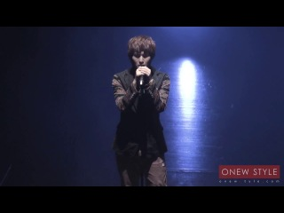 280711 [FC] Onew - Replay (Japanese Acoustic Ver.)  Japan Debut Premium Reception in Tokyo
