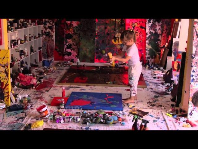 Documentary Hidden Universe Aelita Andre's 2012 New York solo show