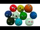 Плейдо сюрпризы открываем игрушки Play Doh Surprises de jouets d'argile Playdoh