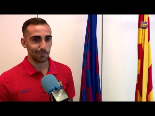 """Paco Alcácer: """"I will try and do my bit by bringing goals and hard work"""""""