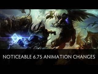 Dota 2 Noticeable  Animation Changes (Weaver and Treant)