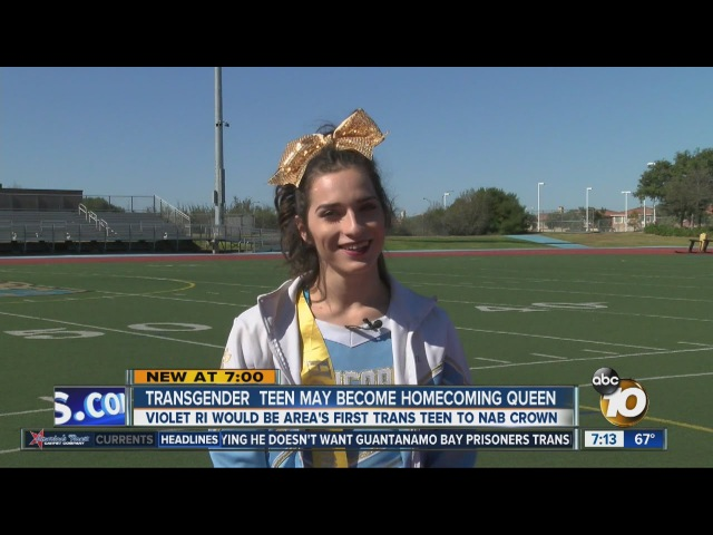 Transgender teen looks to become San Ysidro High School's homecoming queen