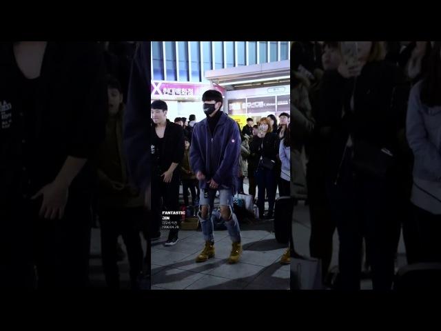 161111 디오비 DOB 신촌공연 《박재범 - 몸매》Park Jin 박진