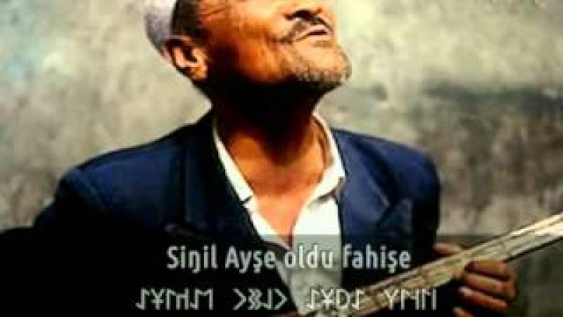 Hani Gökbörü?   Neredesin Bozkurt? Çifte gözler yanar kara - Uygur Türküleri (çok acı bir ezgi)