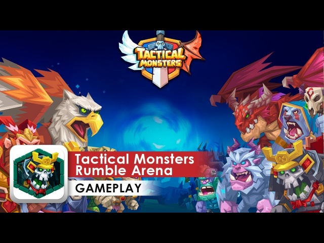 Tactical Monsters Rumble Arena Gameplay HD 1080p (iOS Android) 3-stars completing