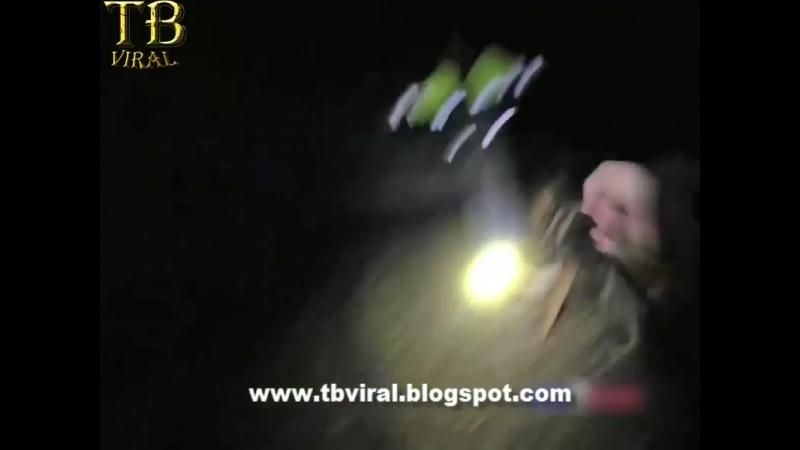 Wildin Suspect Bites Police K-9 After It Attacks Him Video