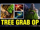 TREE GRAB OP - Ahjit Plays Tiny - Dota 2