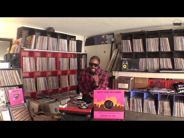 Dam Funk Boiler Room Collections