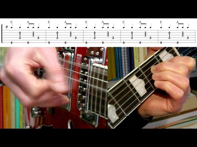 Mystery Train (Guitar Lesson)