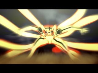 Наруто и Курама (Девятихвостый) VS Тоби и Джинчурики (3 часть)