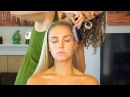 ☺ Relaxing Hair Brushing Scalp Massage Sounds Stress Relief - Whisper 3D Binaural ASMR Ear to Ear☺