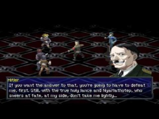 Persona 2: Innocent Sin (Part 49): THE END - Hitler Boss Fight