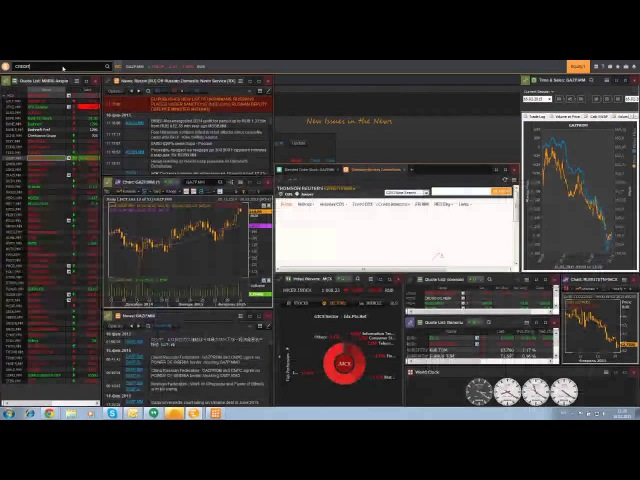 YouTrade.TV представляет Терминал Thomson Reuters Eikon-4
