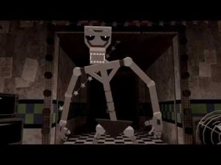 [SFM FNAF2] FNAF Death Scene Test -Endoskeleton