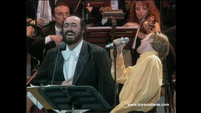 Bryan Adams Luciano Pavarotti - O Sole Mio