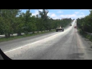 5 июля 2014 Ополченцы отступают из Славянска и Краматорска в Донецк