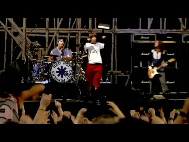 Red Hot Chili Peppers By the Way Scar Tissue Live at Slane Castle