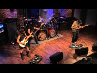 """Tony MacAlpine and band play """"Red Giant"""" live on EMGtv"""