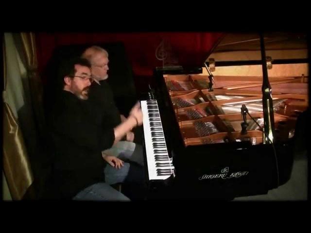 David Nevue Neil Patton - Clockwork - Performed at Piano Haven on a Shigeru Kawai SK7L