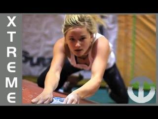 Shauna Coxsey   UK Climbing Star on Trans World Sport