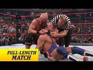 [#My1] Raw - Kurt Angle vs. Steve Austin - WWE Championship Match