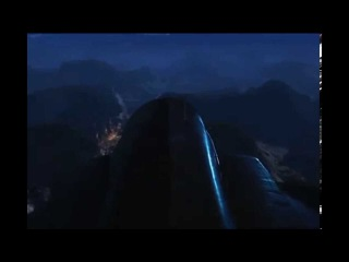 Фронтовой бомбардировщик Су 24. Работа с лазерным наведением по наземным целям.