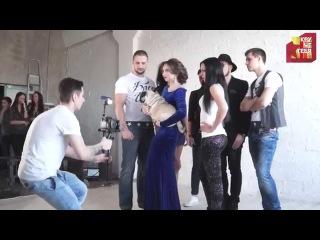 Backstage со съемок клипа Блеск Шик (Bo Valigura & DJ Sandro Escobar  (Olshevsky & Brant mash-up).