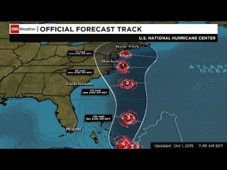 Hurricane Joaquin upgraded to category 4