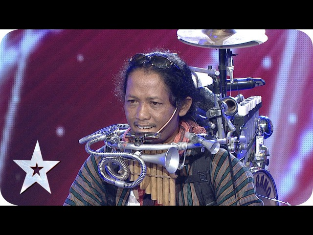 One Man Band by Yon Gondrong AUDITION 4 Indonesia's Got Talent HD
